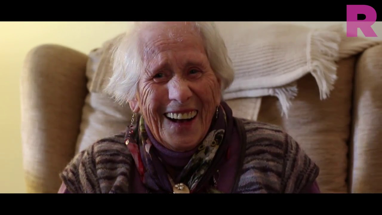 Margaret - 100-Year-Old Bristol City Superfan