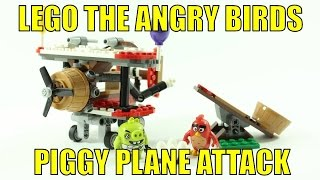 LEGO THE ANGRY BIRDS 75822 PIGGY PLANE ATTACK REVIEW