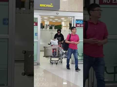 2017.07.30. 김현중 KIM HYUN JOONG FANCAM - Gimpo Airport (from. HND, JP)