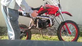 Comment démarer une moto (Dirt Bike 125cc)