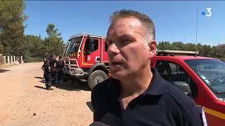 Feux de forêt : la colère des pompiers de l'Hérault