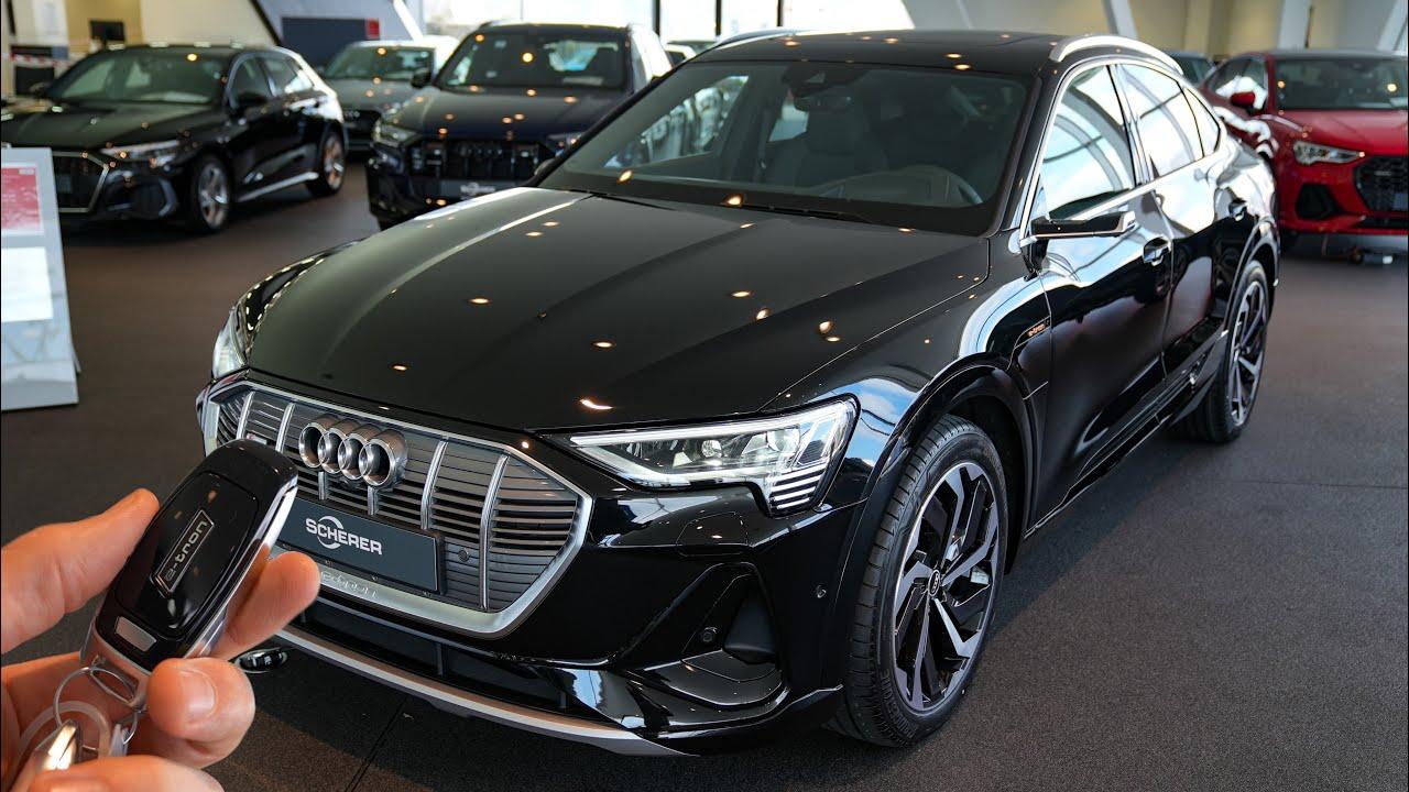2021 Audi E Tron Sportback S Line 55 Quattro 408hp Visual Review Youtube Audi e tron 55 quattro s line
