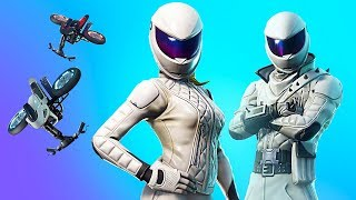 NOUVEAU EPIC WHITEOUT - OVERTAKER SKINS!! Joueur de Fortnite pro // 1 350 victoires (Fortnite Battle Royale)