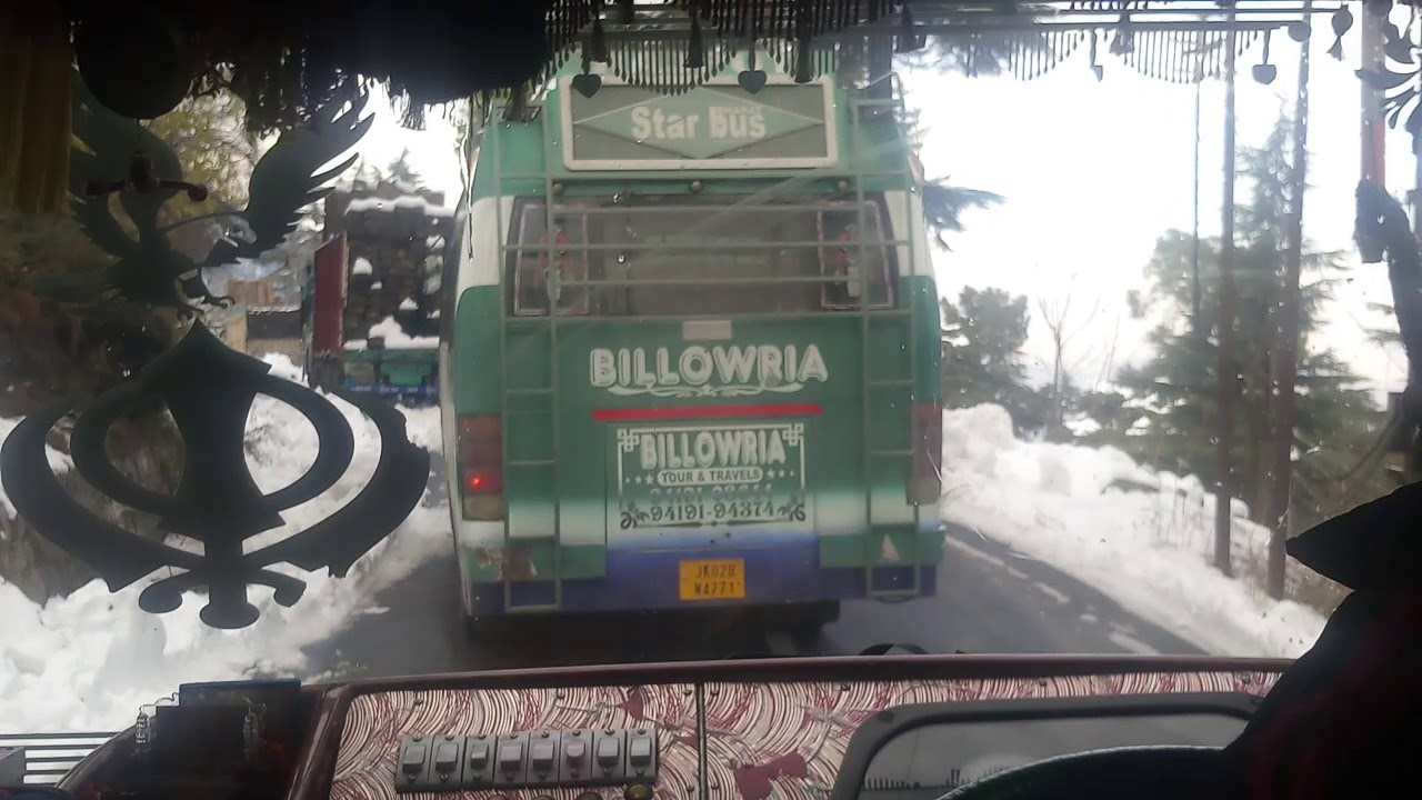 Death race of buses on Himalayan roads
