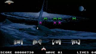 AMIGA INVASION ENCHANCED SPACE INVADERS CLASSIC ARCADIA & BABY ARCADIA OCS 1994 Alternative h Deliri