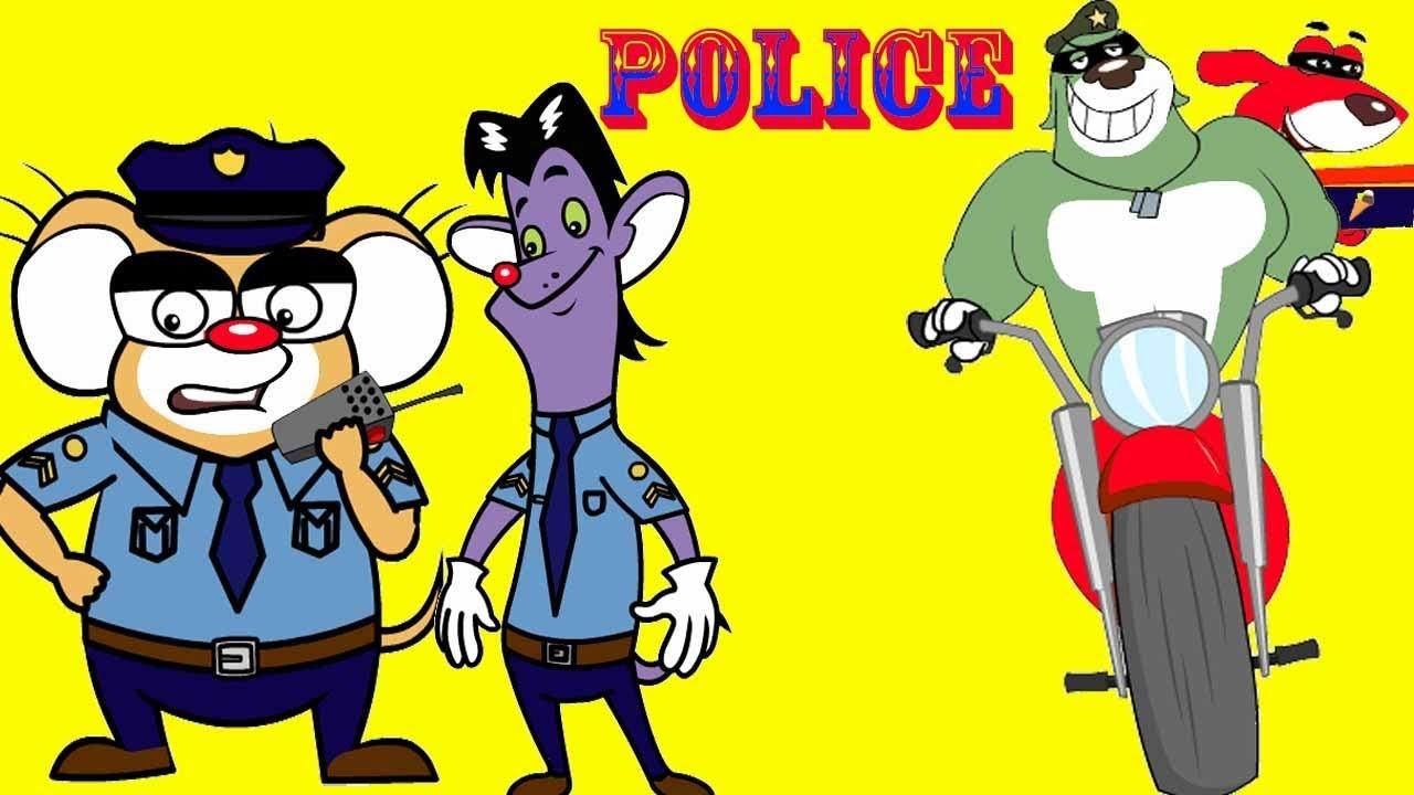 Rat-A-Tat |'Mice Police Chase & Ice cream Thieves Police Car #3'| Chotoonz Kids Funny Cartoon Videos