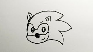 sonic easy draw drawings very