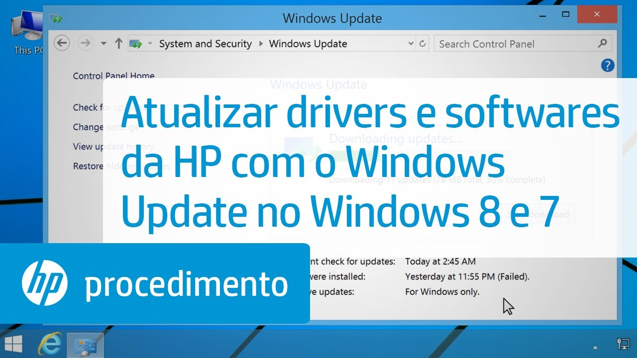 atualizar driver de video windows 7 gratis