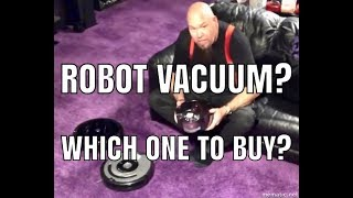 Robot Vacuum? Should you buy one and which one should you get? Roomba or Dyson?