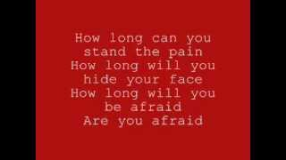 let it burn - Red lyrics