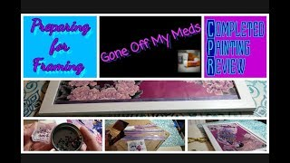 Completed Diamond Painting Review ~ Framing DIY~ DiamondTube #82