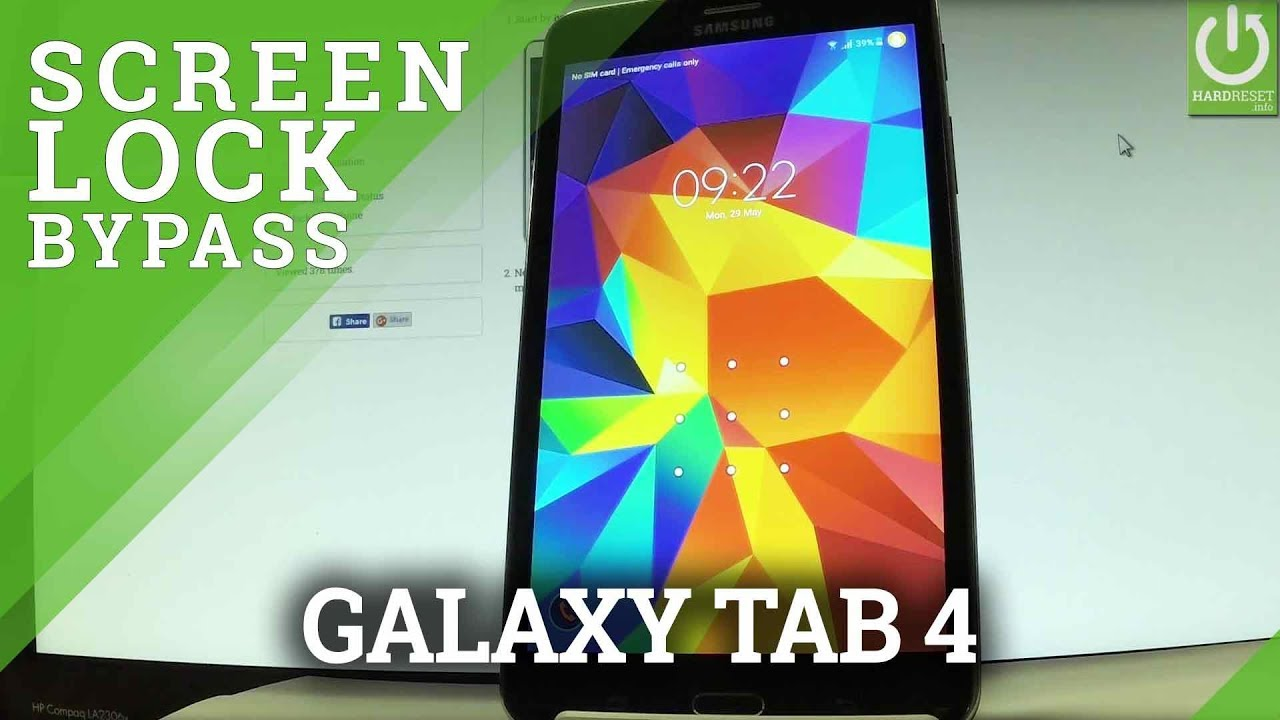 How to Hard Reset my phone - SAMSUNG T231 Galaxy Tab 4 7 0