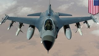 US Air Force F-16 jet crashes in Gulf of Mexico