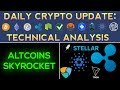 RIPPLE, CARDANO, STELLAR & TRON SKYROCKET! Daily Update + Technical Analysis