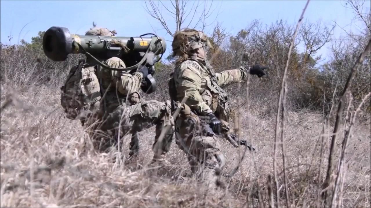 "US Paratroopers Ambush ""OPFOR"" Mechanized Infantry NEW 2017"