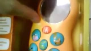 Музыкальный телефон Бани-фон Ouaps 61208(Музыкальный телефон Бани-фон Ouaps http://jili-bili.ru/catalog/?prod=51169., 2014-03-22T07:41:26.000Z)