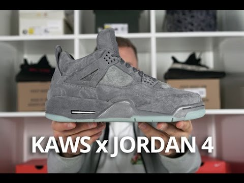 cc782ceed43c26 KAWS x Jordan 4 EARLY Look - YouTube