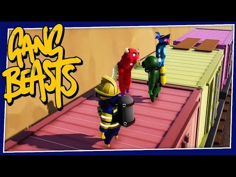 Gang Beasts - #235 - THE FART TANK!! (New Update!!)