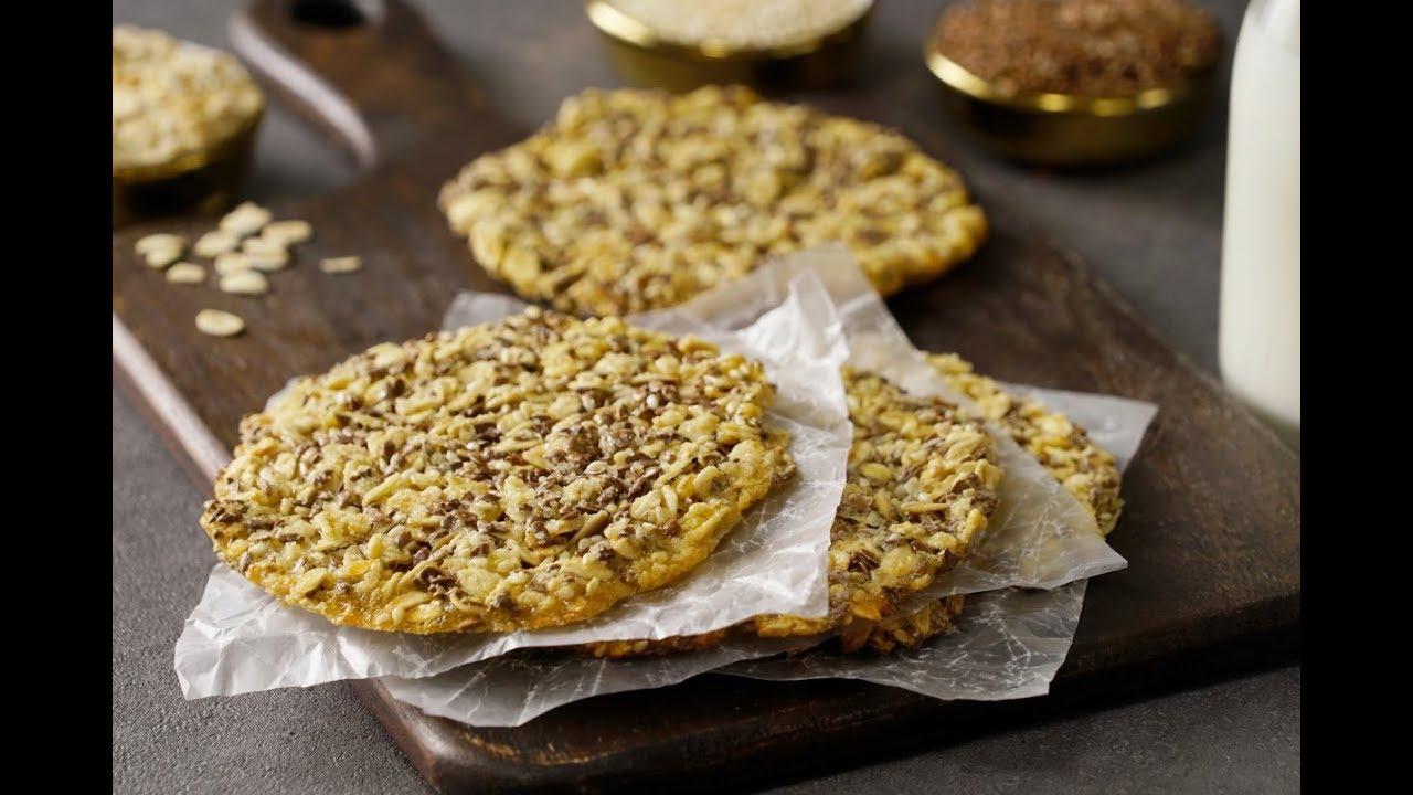 cómo hacer pan de lino y avena