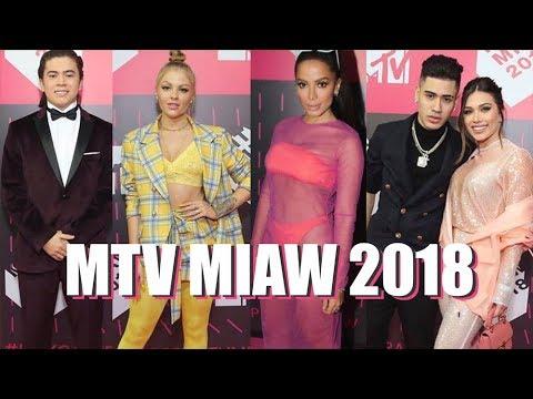 FASHION POLICE: OS LOOKS DAS CELEBRIDADES NO MTV MIAW 2018