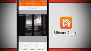 AtHome Camera iPhone App Demo - DailyAppShow