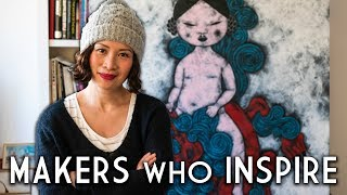 Poh Ling Yeow: Finding Culture Through Art | MAKERS WHO INSPIRE