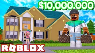 10 000 000 $ VACATION IN ROBLOX