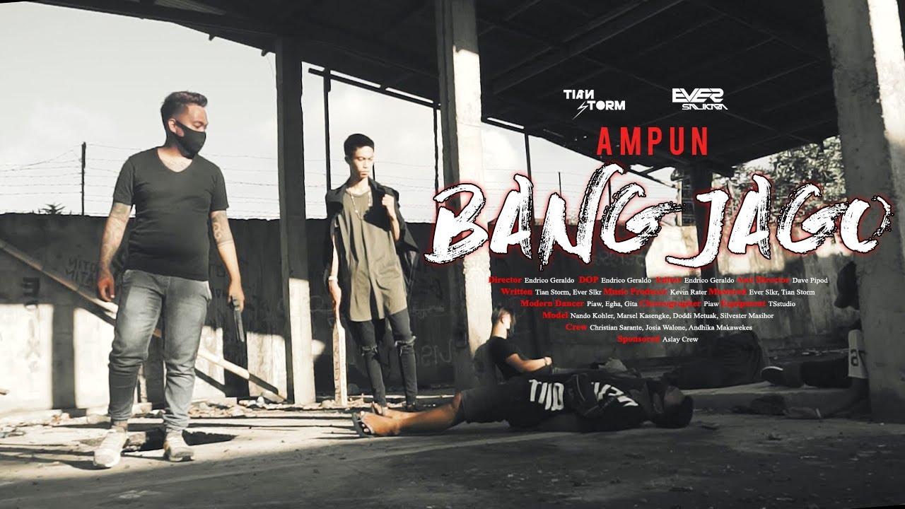 AMPUN BANG JAGO - Tian Storm x Ever Slkr (Official Music Video) DISKO TANAH
