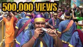 Siva Sakthi Muniandy Urumi Melam(Singapore Thaipusam 2015)-Murugan Song