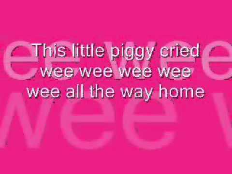 This Little Piggy with Lyrics
