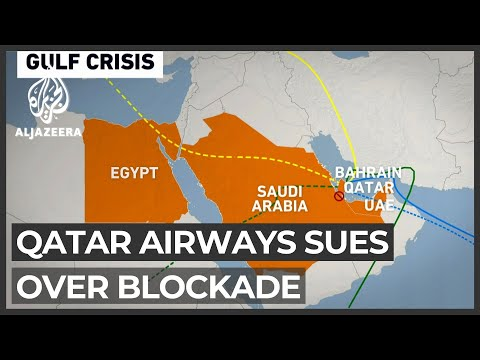 Qatar Airways seeks $5bn compensation from blockading quartet