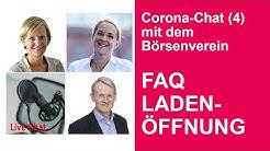Corona-Chat mit der Verbandsspitze: Q&A zu Ladenöffnungen (kostenlos)