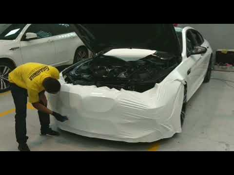 BMW M6 Envelopamento Branco Alto Brilho ( Full )