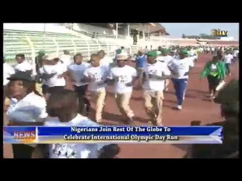 Nigerians join rest of the globe to celebrate Int'l Olympic Day Run