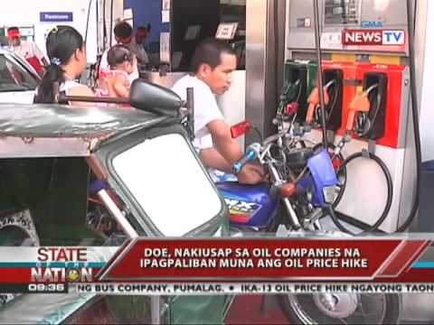SONA - 13th oil price hike since January expected this week 4/18/11