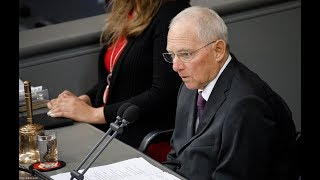 Antrittsrede des neuen Bundestagspräsidenten Dr. Wolfgang Schäuble