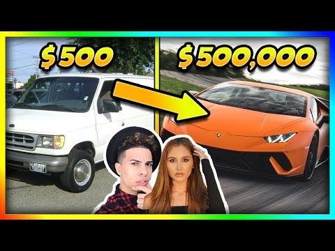 YouTubers Cars Then and Now (ACE Family, Roman Atwood, Tanner Fox)