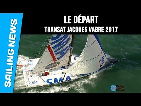 Départ - Transat Jacques Vabre 2017
