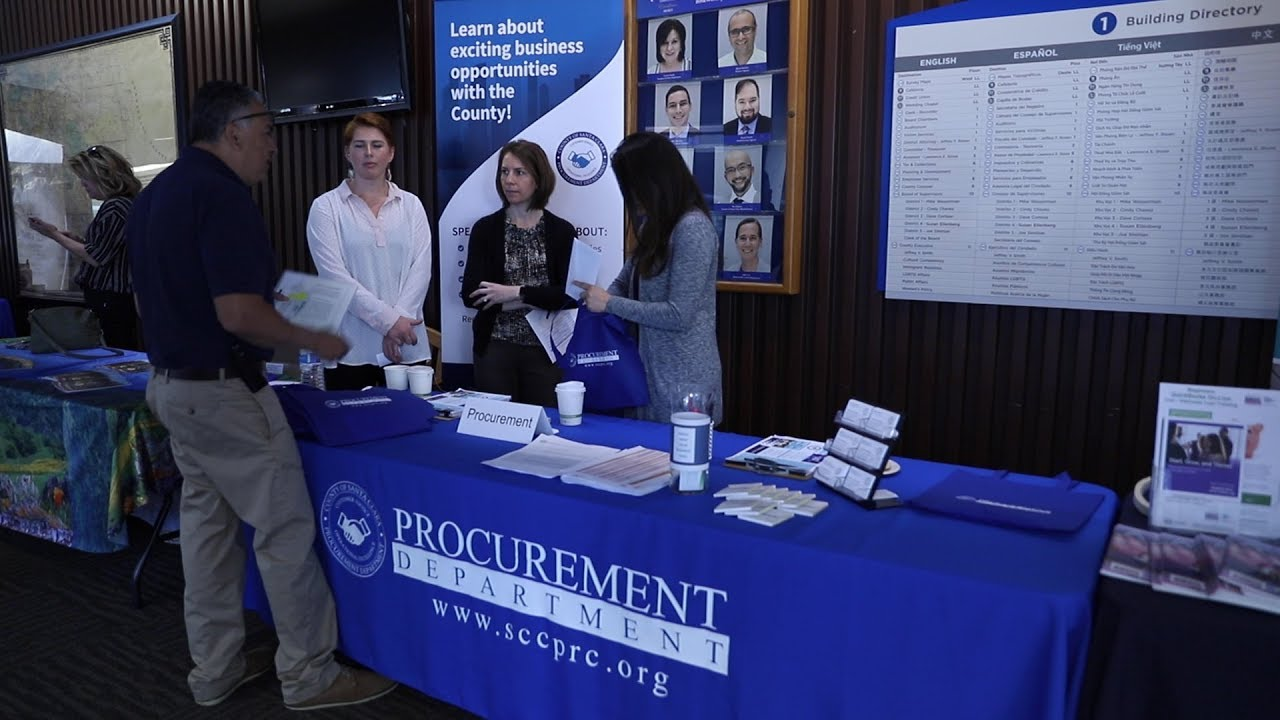 2019 Procurement Small Business Summit Video - County of Santa Clara