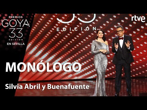 Monologo de Silvia Abril y Andreu Buenafuente | Goya 2019