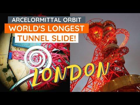 Ride the Slide at ArcelorMittal Orbit