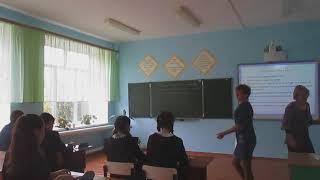 Интегрированный урок русского языка и математики в 9 классе. Галимова Л А., Галиева А.Р.