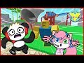 Roblox Pet Escape DON'T GET CAUGHT Let's Play with VTubers Combo Panda VS Alpha Lexa