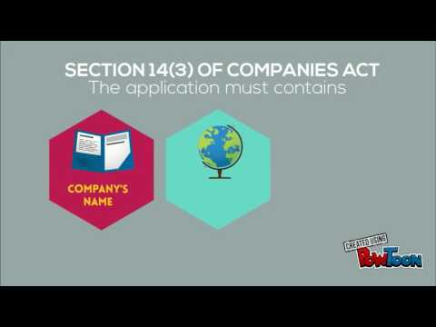 Companies Act 2016 - Formation of A Company