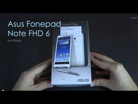 Asus Fonepad Note 6 FHD videoreview da HDblog.it