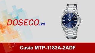 [Góc Review nhanh] #557: Đồng hồ Casio MTP-1183A-2ADF