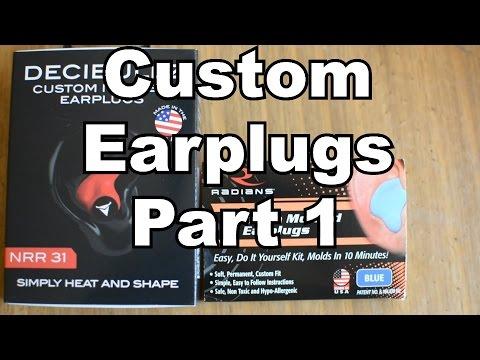 DIY Custom Molded Earplugs