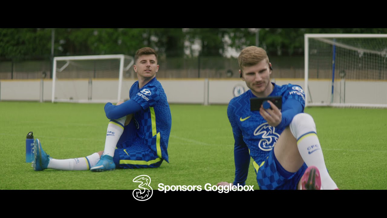 Chelsea FC | GoggleBox | Three UK | TV Idents