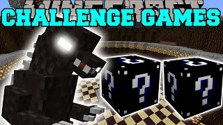 minecraft godzilla challenge games lucky block mod modded mini game