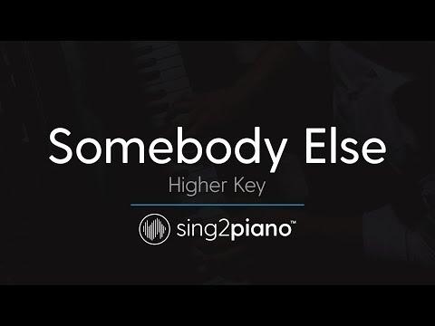 Somebody Else (Higher Key - Piano Karaoke Instrumental) The 1975